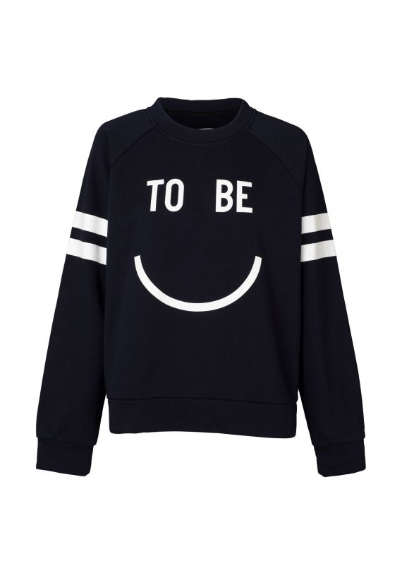 Happy Raglan Sweater Navy