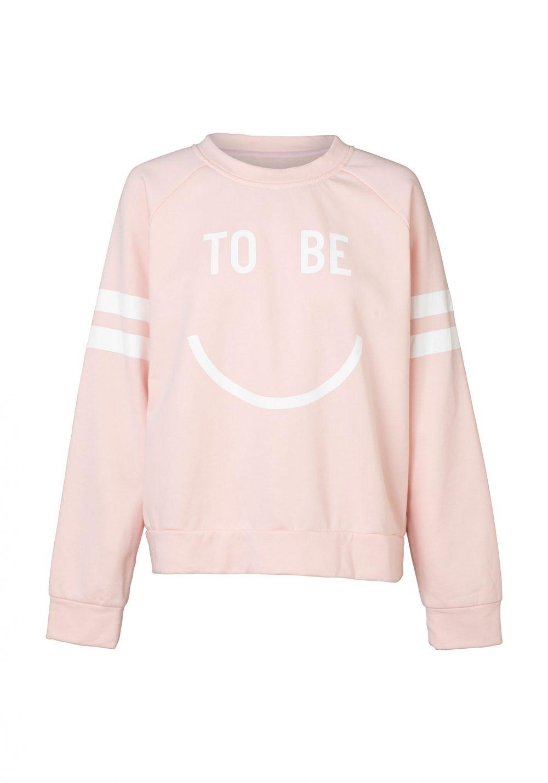 Happy Raglan Sweater Pink