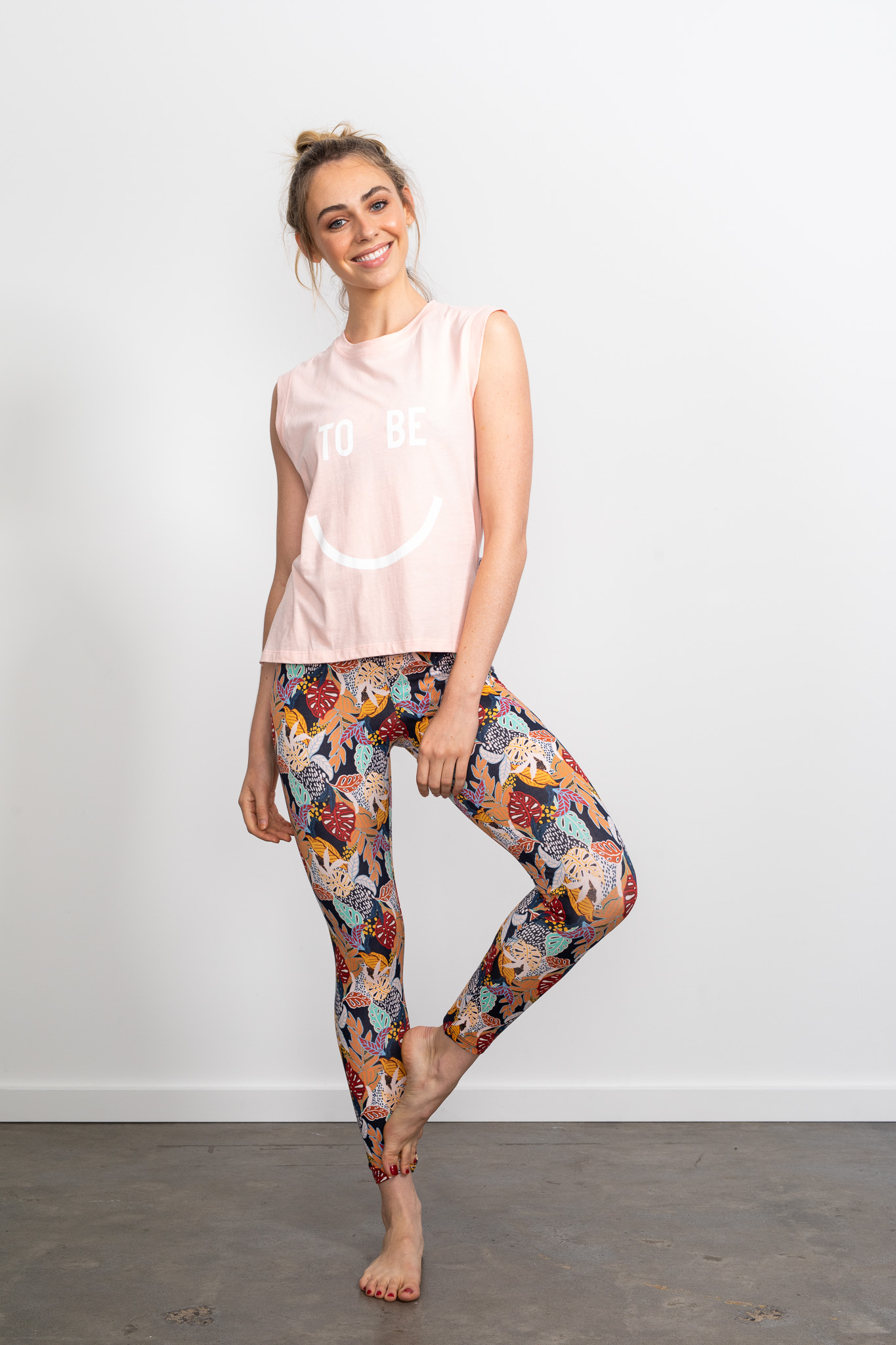 Long Beach Legging Autumn Palm