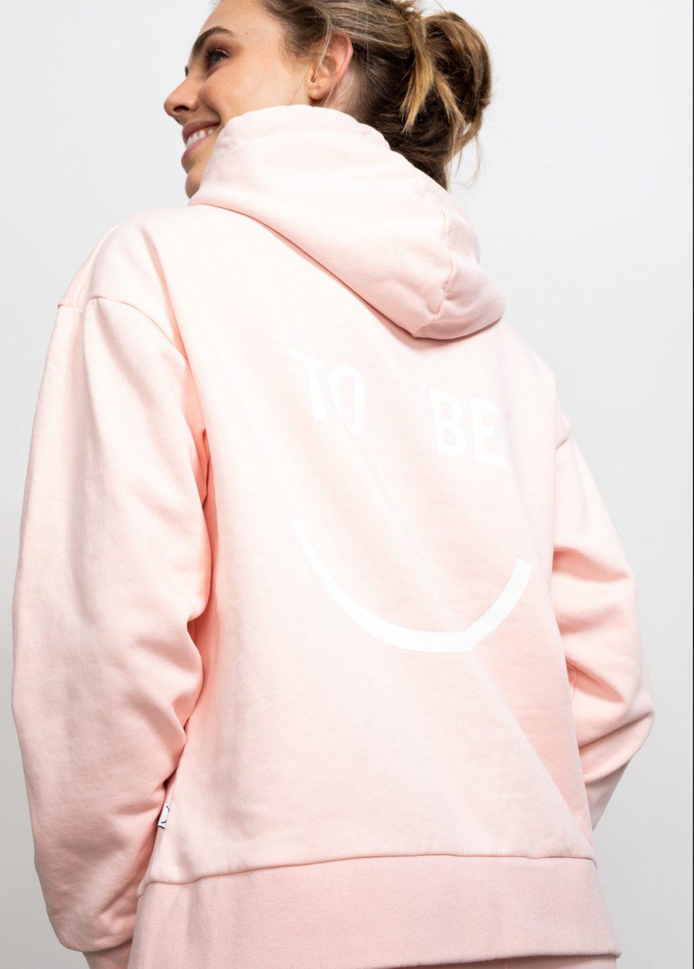 Happy Hoodie Pink