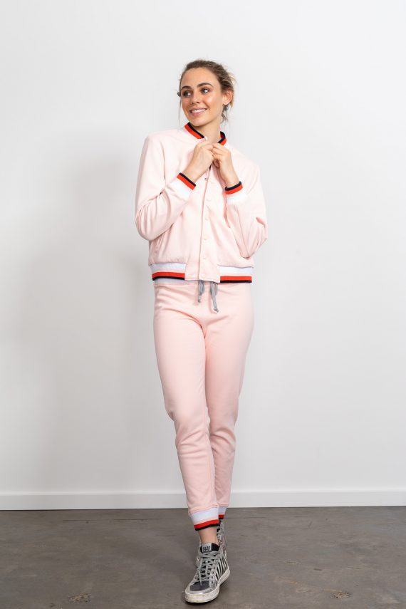 Happy Sweater Jacket Pink