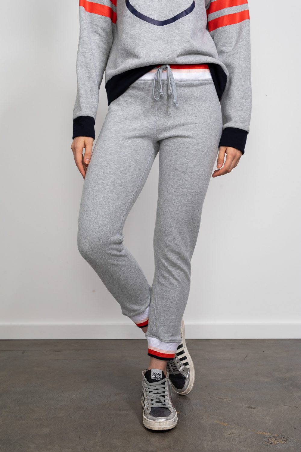 Happy Sweater Pant Grey Marle