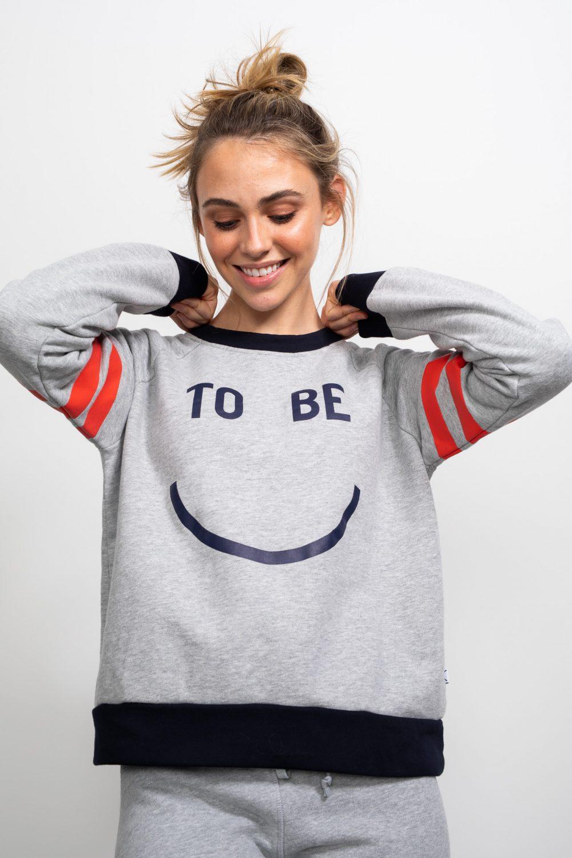 Happy Raglan Sweater