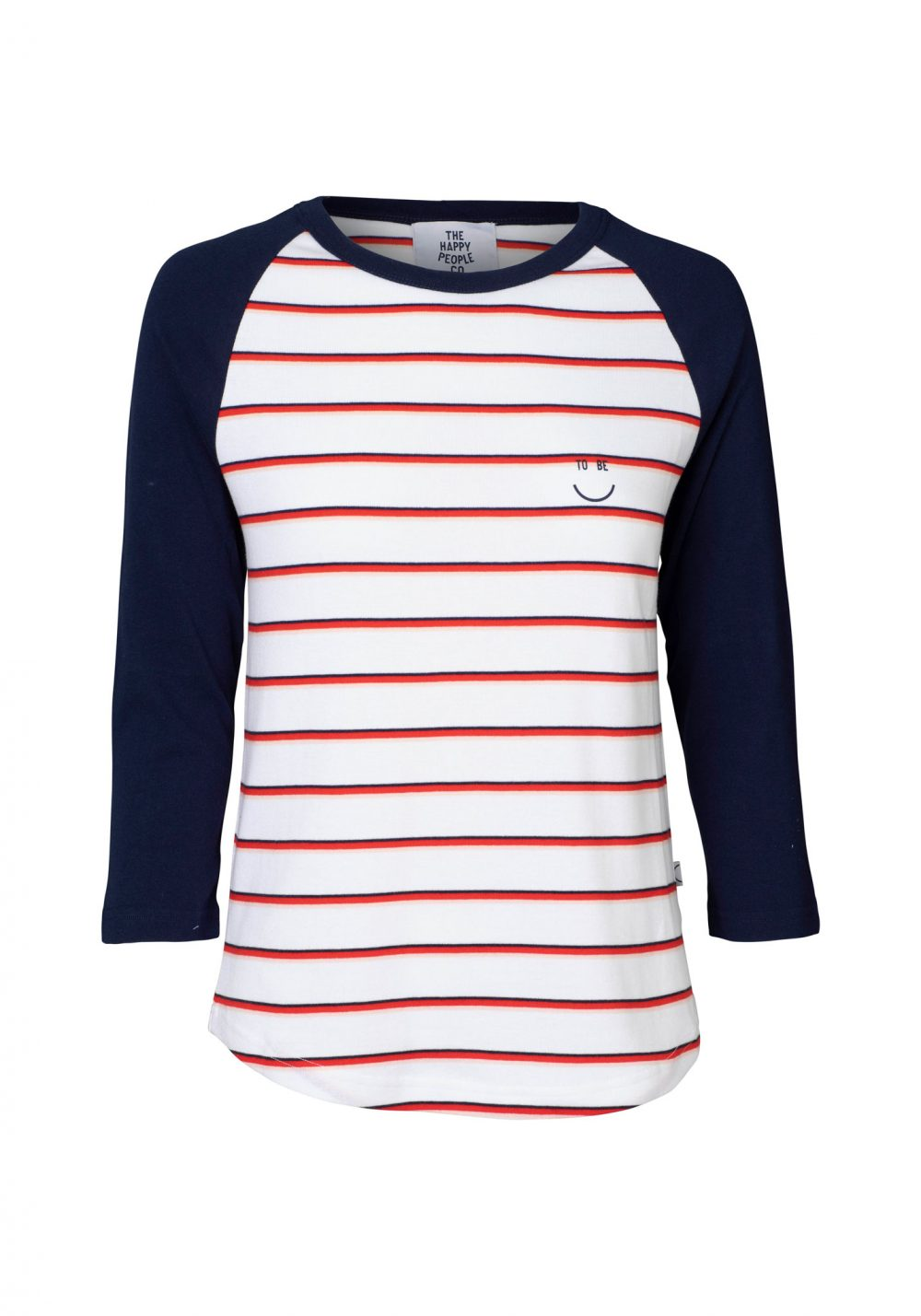Happy Raglan Top Stripe