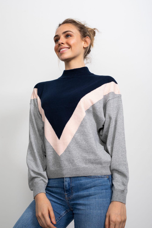 Happy Stripe Knit Jumper