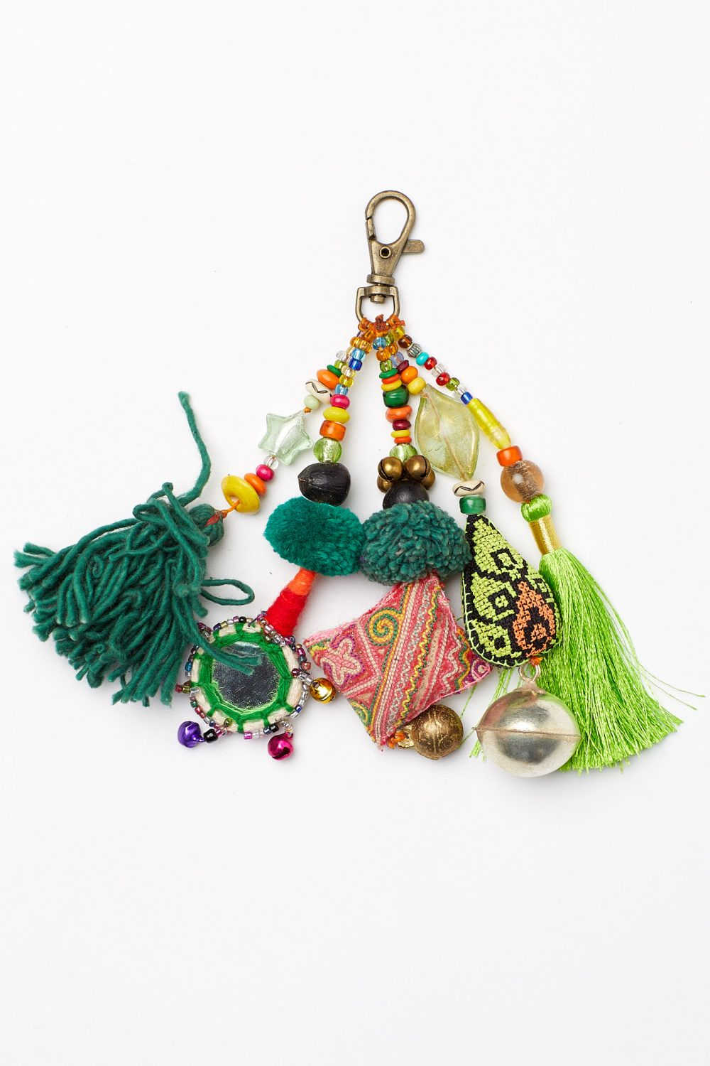 The Happy People Embellished Keyring